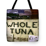 American Whole Tuna Tote Bag