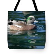 American Widgeon Duck Tote Bag