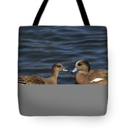 American Widgeon Pair Tote Bag