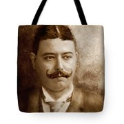 Americana - People - The Boss Tote Bag by Mike Savad