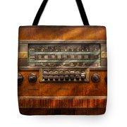 Americana - Radio - Remember What Radio Was Like Tote Bag