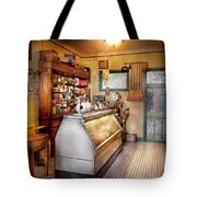 Americana - Store - At The Local Grocers Tote Bag