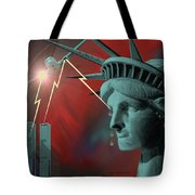 Americas Deepest  Wound  - 100 Tote Bag