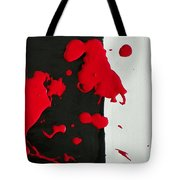 America's History Of Black And White Thinking Tote Bag