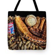 America's Pastime Tote Bag by Ken Smith