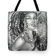 Amerikan Woman Tote Bag