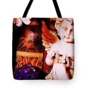 Amethyst Angel Tote Bag