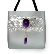 Amethyst Caverns Tote Bag
