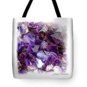 Amethyst Crystals 1. Elegant Knickknacks Tote Bag