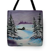 Amethyst Evening After Ross Tote Bag