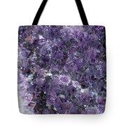 Amethyst Geode II Tote Bag