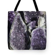 Amethyst Geode Pieces Tote Bag