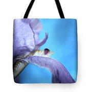 Amethyst Iris Tote Bag