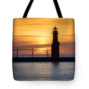 Amiable Awakening Tote Bag