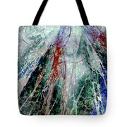 Amid The Falling Snow Tote Bag