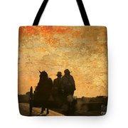 Amish After A Hard Days Work Tote Bag