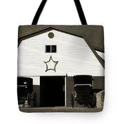 Amish Barn And Buggies Tote Bag