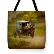 Amish Buggy Ride Tote Bag