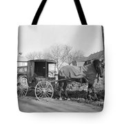 Amish Carriage, 1942 Tote Bag