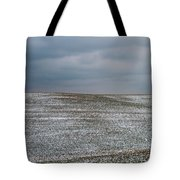 Amish Country In Winter Tote Bag