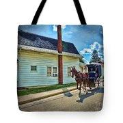 Amish Country Ride Tote Bag