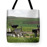 Amish Eggs Tote Bag