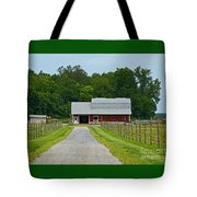 Amish Farm Tote Bag
