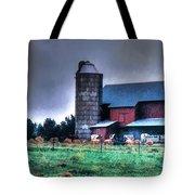Amish Farming 2 Tote Bag