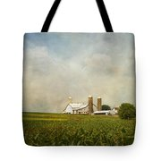 Amish Farmland Tote Bag