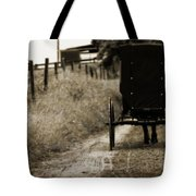 Amish Horse And Buggy Tote Bag