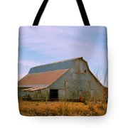 Amish Metal Barn Tote Bag