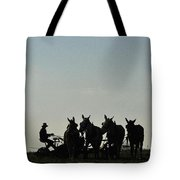 Amish Silhouette  Tote Bag