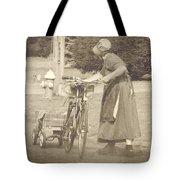 Amish Times Tote Bag