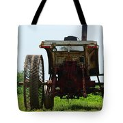 Amish Tractor Tote Bag