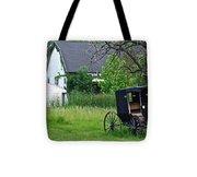 Amish Way Of Life Tote Bag
