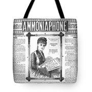 Ammoniaphone, 1885 Tote Bag
