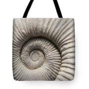 Ammonites Fossil Shell Tote Bag