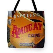 Amocat Cafe Tote Bag