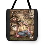 Among Mother's Baskets Tote Bag