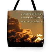 Among Nations Tote Bag