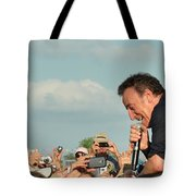 Among The Crowd Tote Bag
