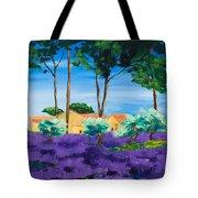 Among The Lavender Tote Bag