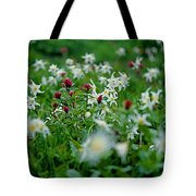 Among The Lillies Tote Bag