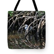 Among The Mangrove Roots Tote Bag
