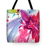 Among The Peonies Tote Bag