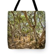 Among The Trees - The Mysterious Trees Of The Los Osos Oak Reserve Tote Bag