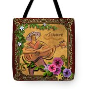 Amore - Musician Version Tote Bag by Bedros Awak