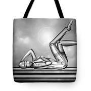 Amorous Android Tote Bag