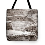 Amphitheater In Petra Tote Bag