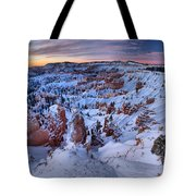 Amphitheater Sunrise Tote Bag